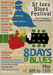 St Ives Blues Fest poster